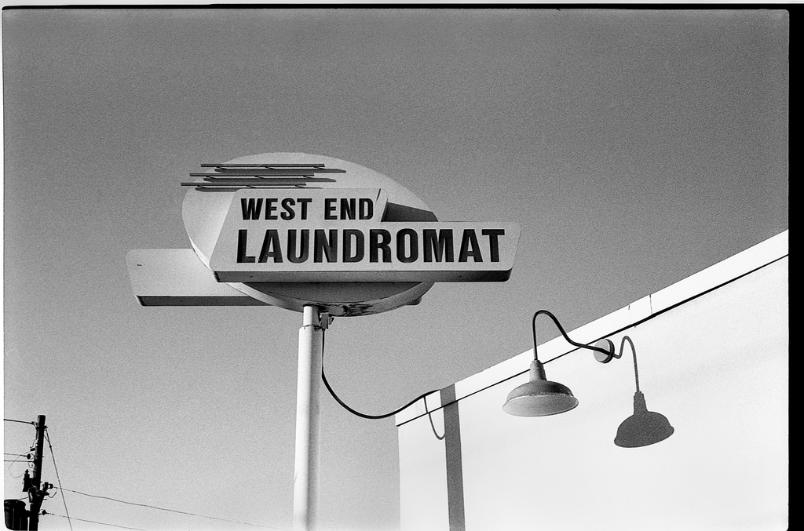 West End Laundromat Frederick Maryland Konica III Film  black and white film photography Johnny Martyr
