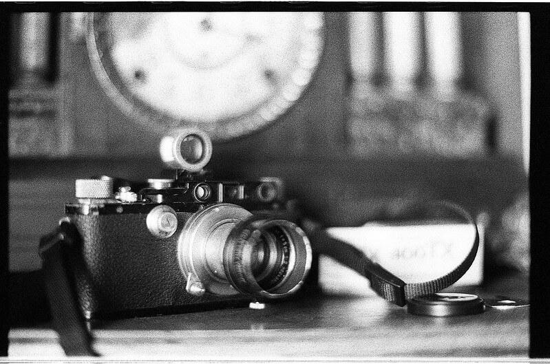 Johnny Martyr 1930 Black Leica Barnack